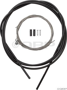 Shimano Stainless MTB Brake Cable and Housing Set (Black)